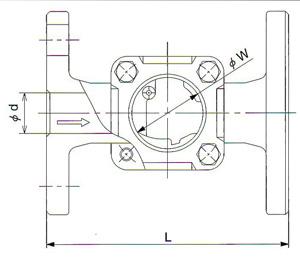 SL-1F观视镜尺寸图